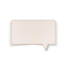 Message bubble with place for your text vector