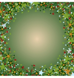 funky multicolored stars vector image