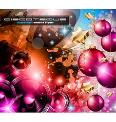 2014 happy new year party background vector