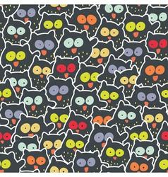 owl mess vector image