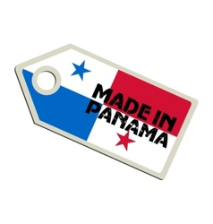Made in Panama vector image vector image