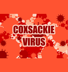 virus disease relative background vector image vector image