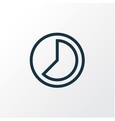 Accelerated icon line symbol premium quality vector
