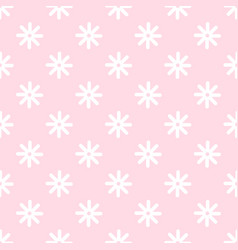 Flower stitches seamless pattern geometric vector