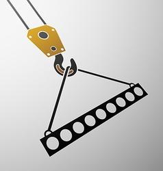 Industrial hook stock vector