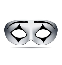 Pierrot carnival mask vector image