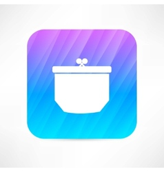 purse icon vector image