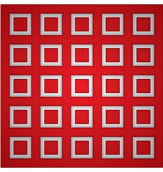 Red square background vector image vector image