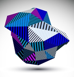 Bright triangular abstract 3d digital eps8 vector