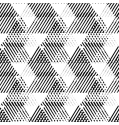 Abstract striped background vector image