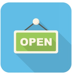 Open icon vector image