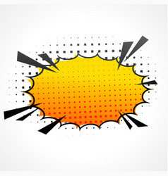 Comic speed bubble vector