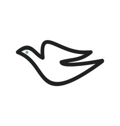 Flying Bird vector image