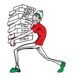 Pizza delivery man1 resize vector