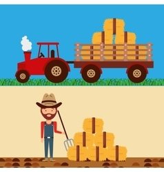 agriculture production concept icon vector image
