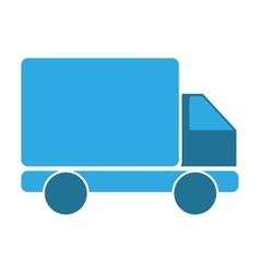 Cargo truck vehicle vector