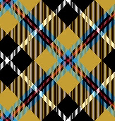 Cornish tartan fabric texture seamless diagonal vector