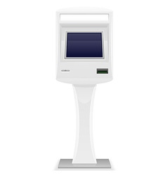 Terminal for receiving payments 04 vector