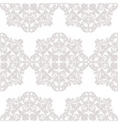 Vintage Baroque ornament pattern vector image vector image