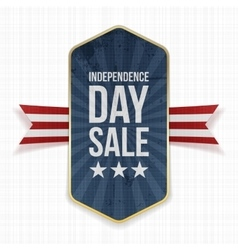 Independence day sale festive label vector