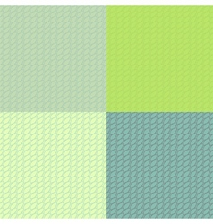 Abstract scales stylized seamless pattern set in vector