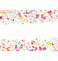 childish abstract bright colorful confetti vector image vector image