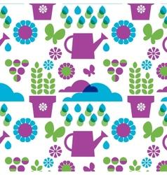 garden objects organic set vector image