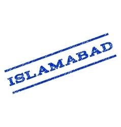 Islamabad watermark stamp vector