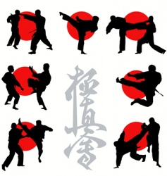 Kyokushin karate vector