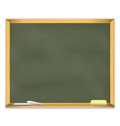 Retro School Chalkboard vector image