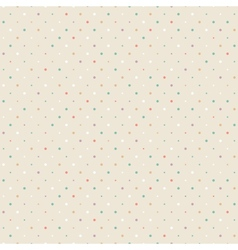 Polka dots background vector