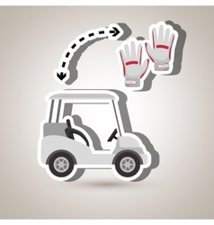 Golf equipment design vector