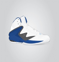 basket boots vector image