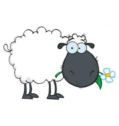 Royalty free rf clipart white sheep cartoon vector