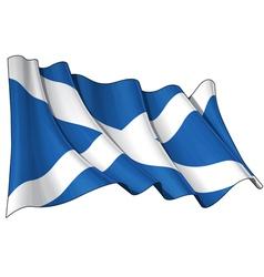 Scotland Flag vector image vector image