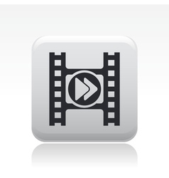 video icon vector image vector image