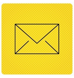 Envelope mail icon email message sign vector