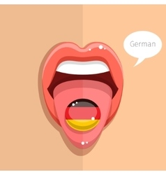 German language concept vector
