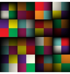 Abstract square seamless background vector image vector image