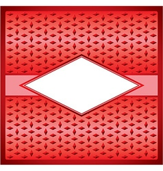 Rhombus frame vector image vector image