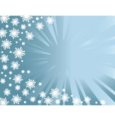 winter background z vector image vector image