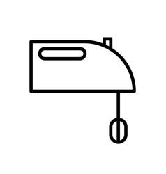 Electrical mixer icon vector