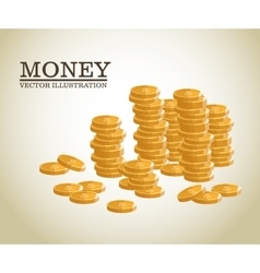 Business concept sign of money vector