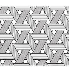 Basketwork drawing only black on transparent vector