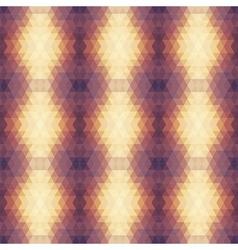 Beige Violet Geometric Pattern seamless vector image vector image
