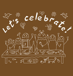 Celebrate vector