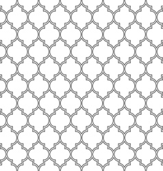 Delicate seamless pattern in islamic style vector image vector image