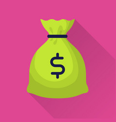 moneybag with dollar sign vector image