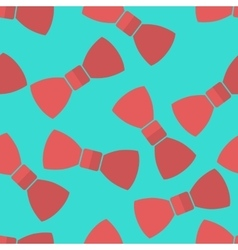 pattern bow ties vector image