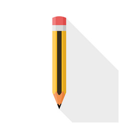 Pencil flat design vector